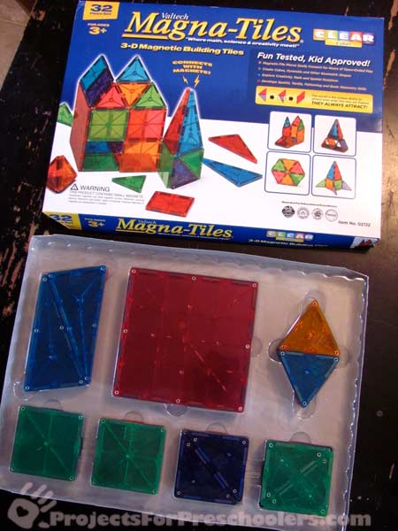 Box of Magna-Tiles from Steve Spangler Science