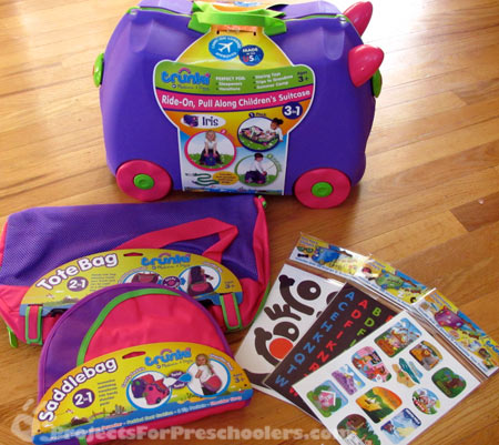 Iris Trunki toy and accessories by Melissa and Doug