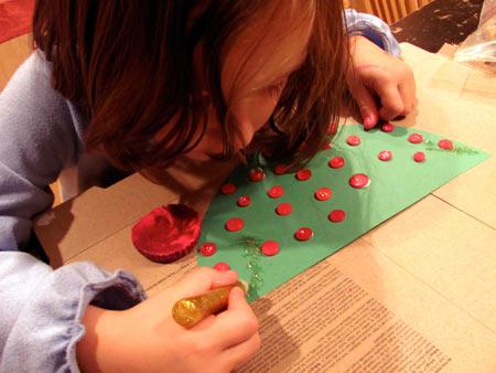 Cut paper and decorate