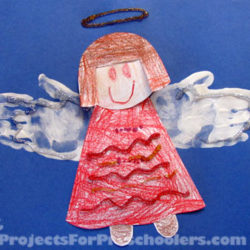 Handprint Angel Art