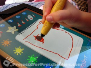 Nomand Play iPad paint brush for kids
