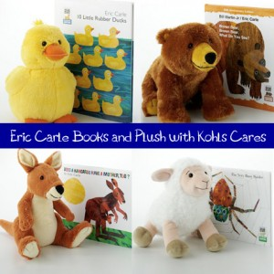 Eric Carle Books featured in Kohls Cares