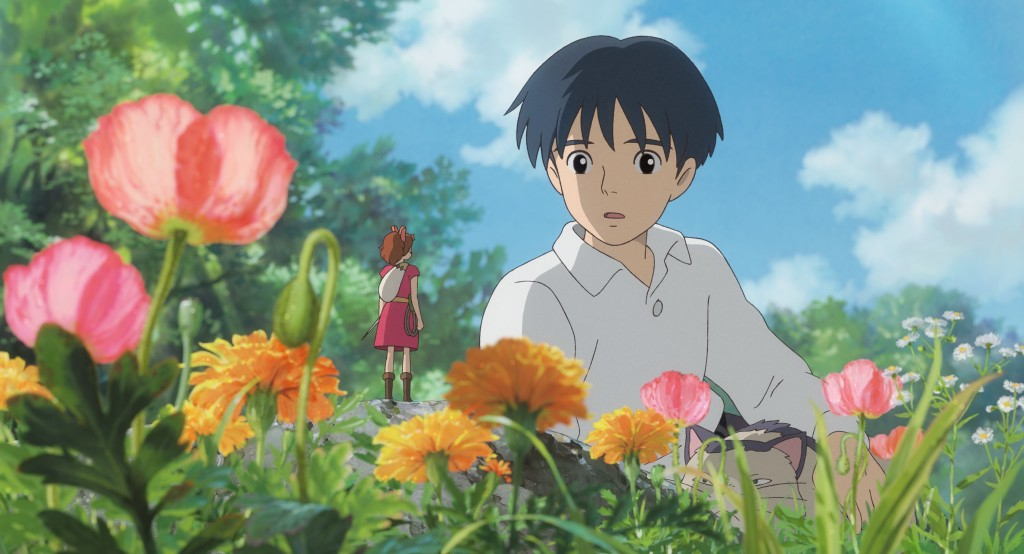 Secret World of Arrietty - scene in the garden