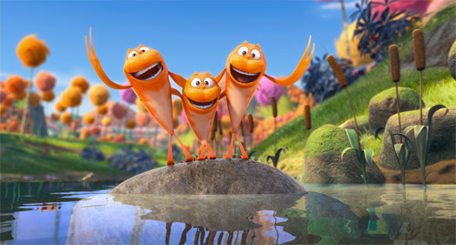 The Lorax movie singing fish