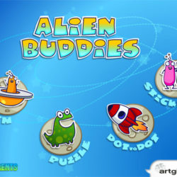 Alien Buddies iPad preschool game