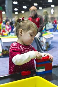 LEGO Kidsfest is great for preschoolers