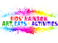 Piles of rainbow activities