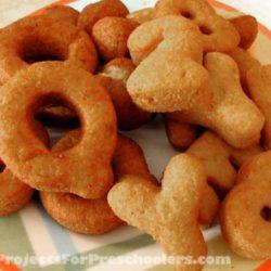 Easy Alphabet doughnuts