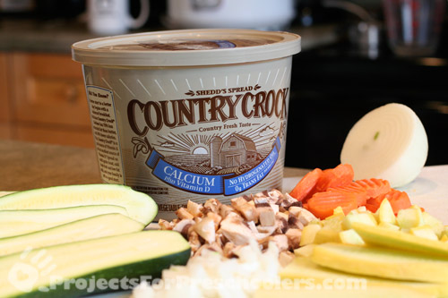 Country Crock goes great with Vegetables