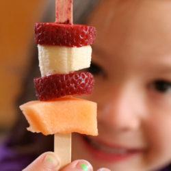 Food craft – fruit kabob