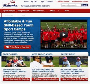 Skyhawks Sports Academy summer programs