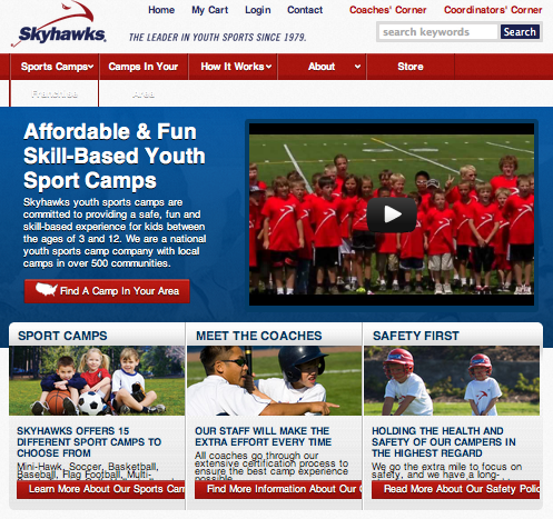 Skyhawks Sports Academy summer programs