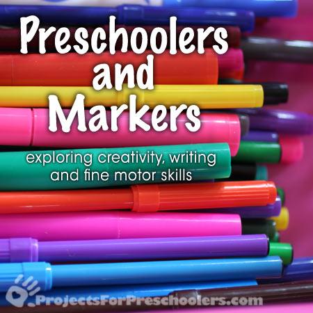 Preschoolers and Markers