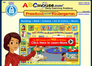 ABC Mouse online learning for preschoolers