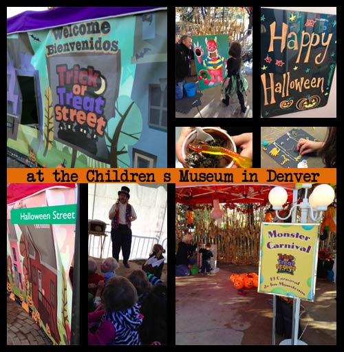 Trick or Treat Street at the Denver Children's Museum