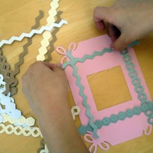 explore the card making shapes and pieces
