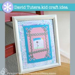 Preschool Art with David Tutera's 1-2-3 Paper Crafts