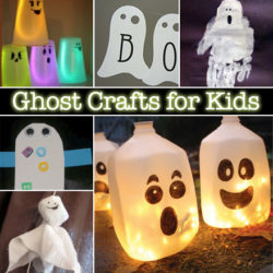 Ghost crafts perfect for Halloween