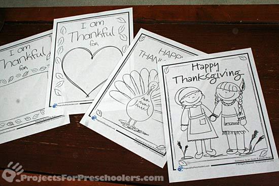 Thanksgiving activity printables