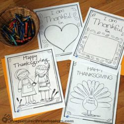 Thanksgiving coloring pages and printables