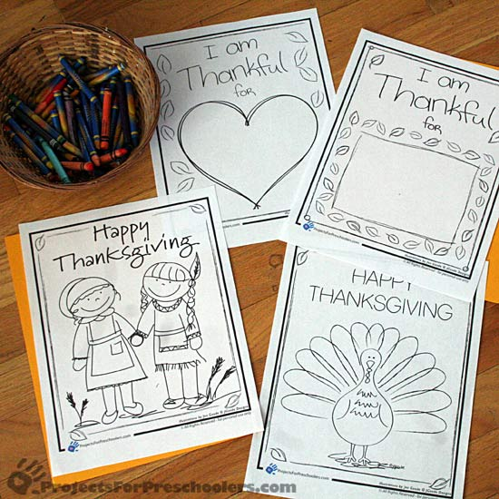 Thanksgiving Preschool Party Games