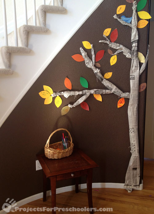 Making a Thankful Tree