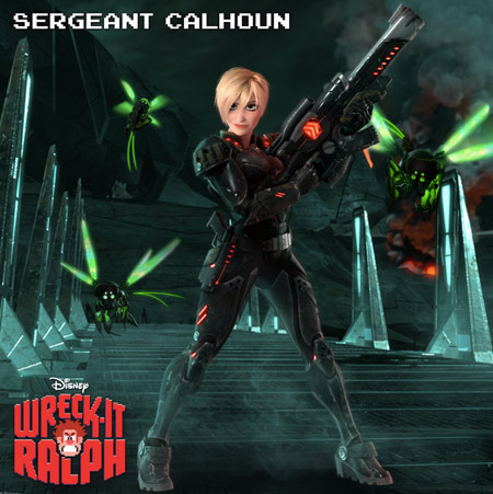 Sgt. Calhoun in Wreck-It Ralph