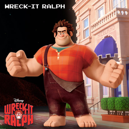 Ralph in Wreck-It Ralph
