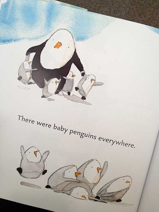 all these baby penguins - so cute!