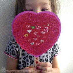 Make Valentines with Sticky Sticks