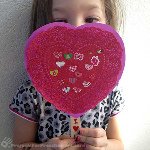 Have fun making Valentines with Sticky Sticks