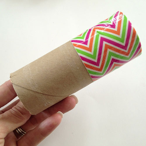 Wrap tube with Duck tape