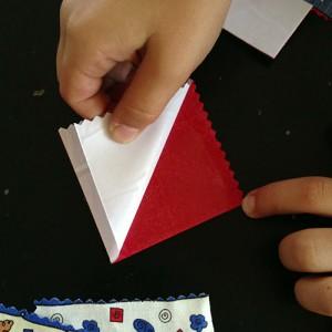 Peel adhesive backing