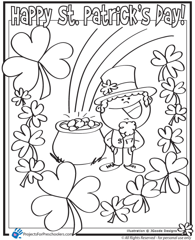 Happy St. Patrick\'s Day - Projects for Preschoolers