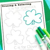 Shamrock and Clover Tracing
