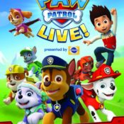 PAW Patrol Live! and Coloring Page