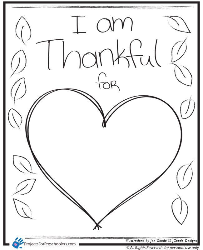 I am Thankful - Heart